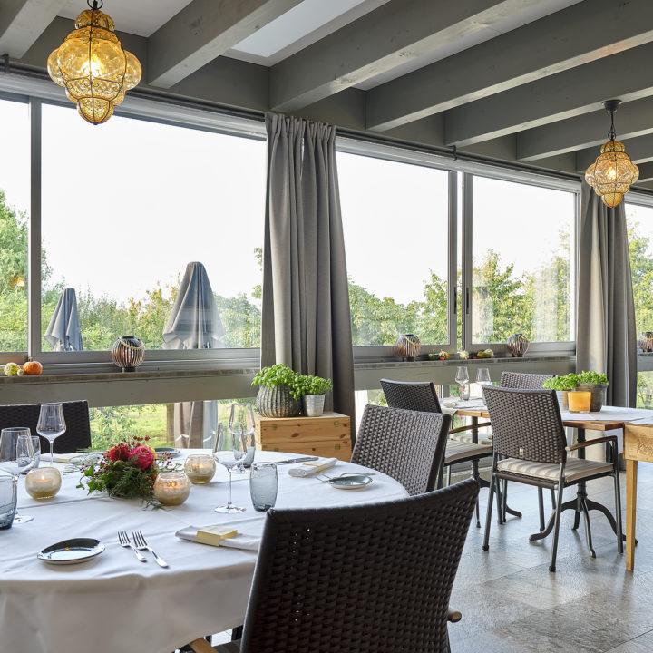 verglasung restaurant hessighofen
