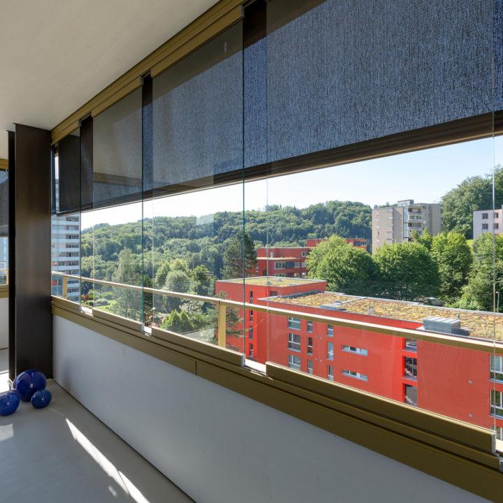 Balkonverglasung 15