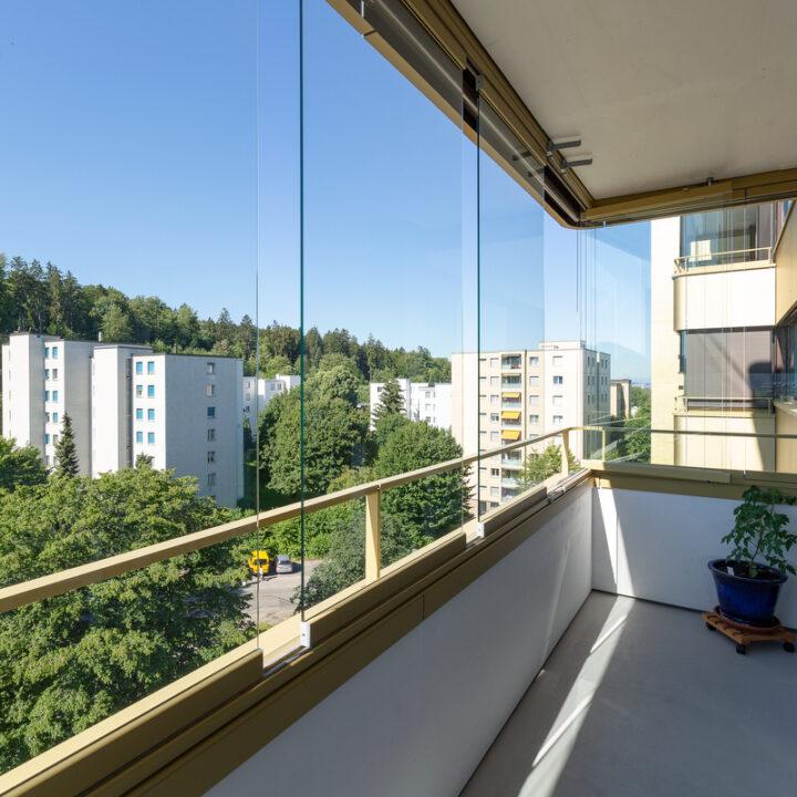 Balkonverglasung 16