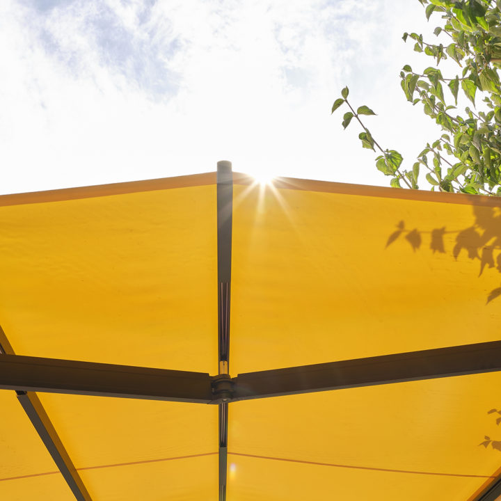 sunrain terrasenmarkise schutz vor sonne