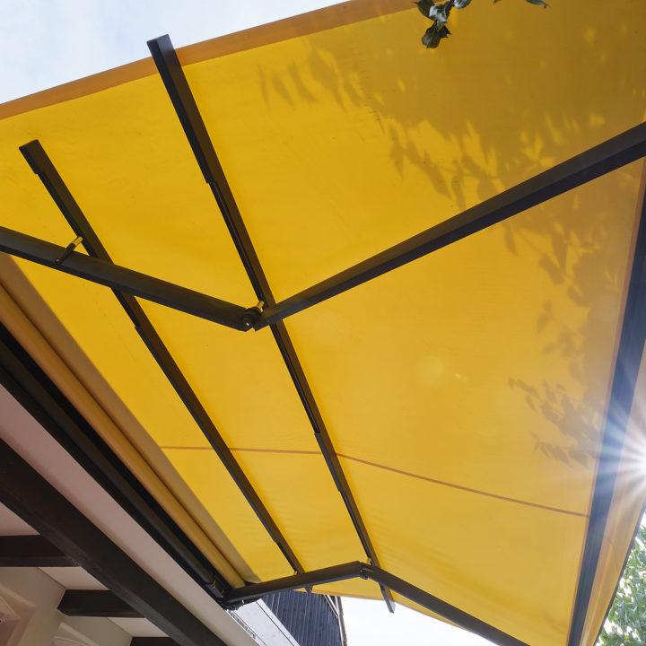 terrassenmarkise sonnenschutz sunrain