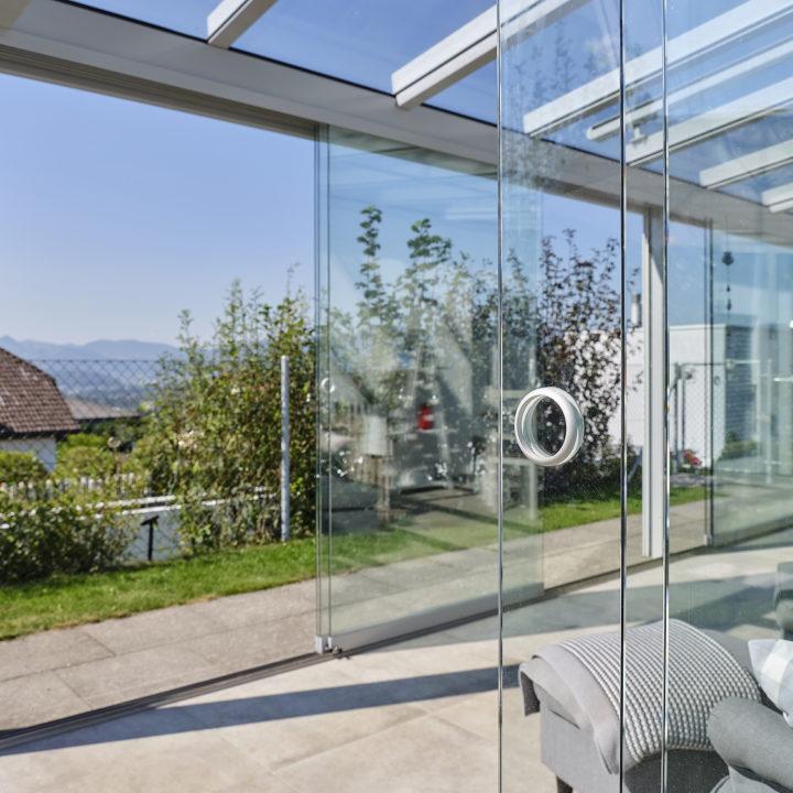 glashaus klare sicht ins freie