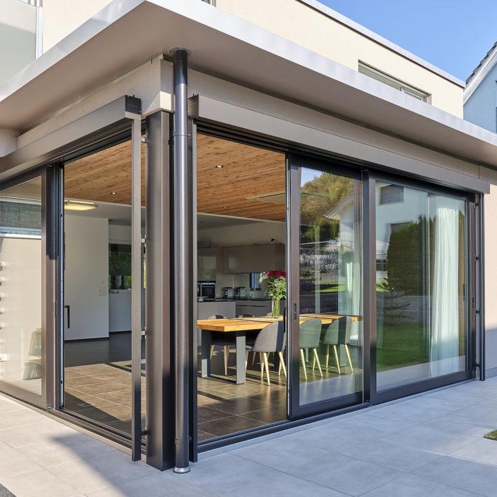 wohnraum erweitern mit isolierten verglasungen